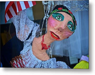 Gypsy Doll Metal Print by Ricardo J Ruiz de Porras