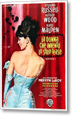 Gypsy, Italian Poster, Natalie Wood Metal Print by Everett