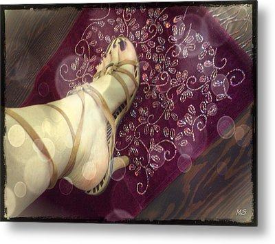 Gypsy Shoes Metal Print by Absinthe Art By Michelle LeAnn Scott