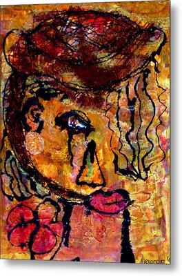 Gypsy Woman Metal Print