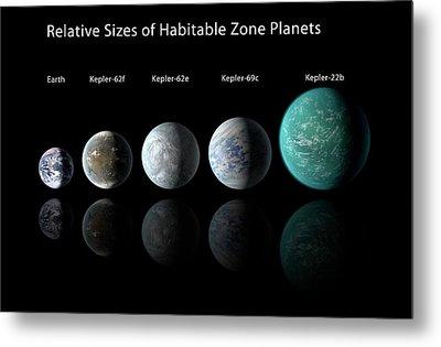 Habitable Zone Planets Metal Print