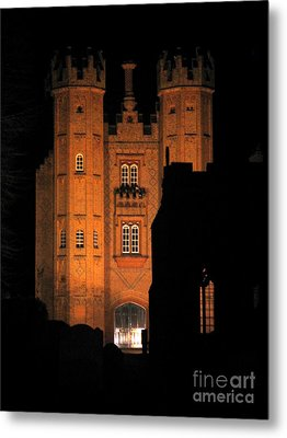 Hadleigh Deanery By Night Metal Print by Linda Prewer