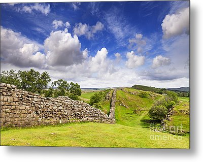 Hadrians Wall Metal Print by Colin and Linda McKie
