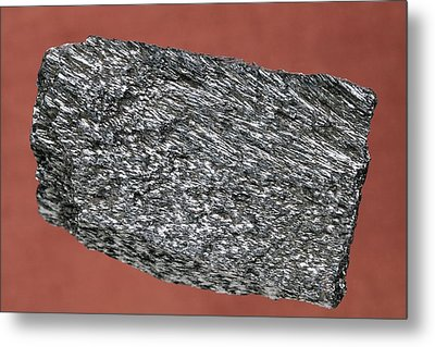 Haematite Metal Print by Science Photo Library
