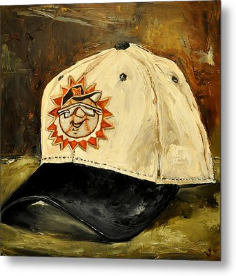 Metal Print featuring the painting Hagerstown Suns by Lindsay Frost