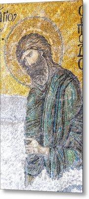 Hagia Sofia Mosaic 12 Metal Print by Antony McAulay
