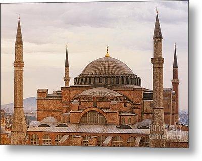 Hagia Sophia 06 Metal Print by Antony McAulay