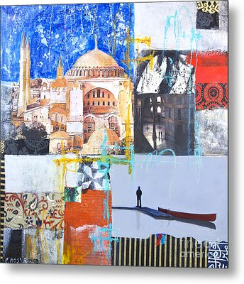 Hagia Sophia Istanbul Metal Print