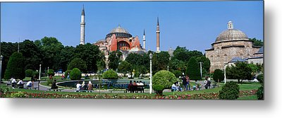 Hagia Sophia, Istanbul, Turkey Metal Print by Panoramic Images
