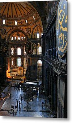 Hagia Sophia Metal Print by Stephen Stookey