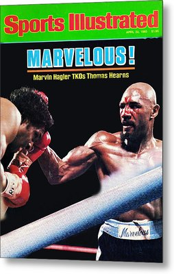 Hagler Vs Hearns Metal Print
