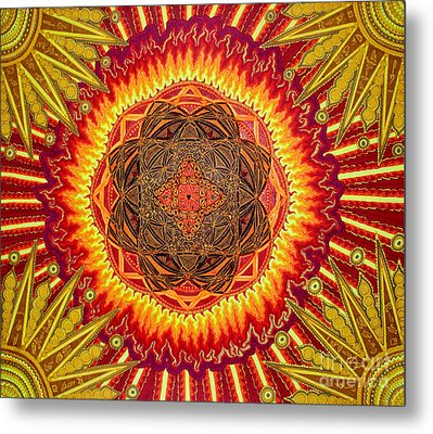 Hail To My African Sun Metal Print