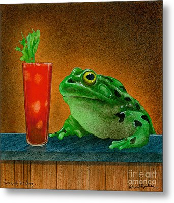 Hair Of The Frog... Metal Print by Will Bullas
