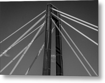 Hale Boggs Memorial Bridge Metal Print by Andy Crawford