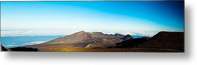 Metal Print featuring the photograph Haleakala by Cathy Donohoue
