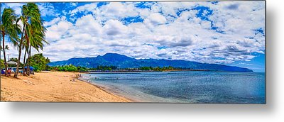 Haleiwa Beach Metal Print by Gordon Engebretson