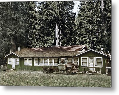 Hales Grove Ca Trapped In The Past Metal Print