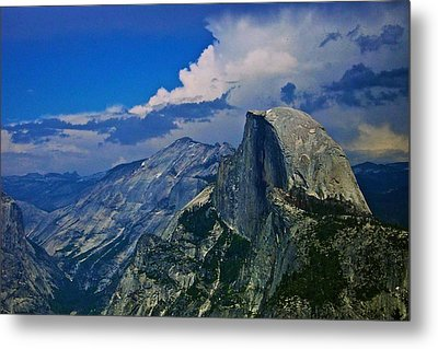 Half Dome From Glacier Point Metal Print by Eric Tressler