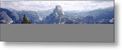 Half Dome High Sierras Yosemite Metal Print by Panoramic Images