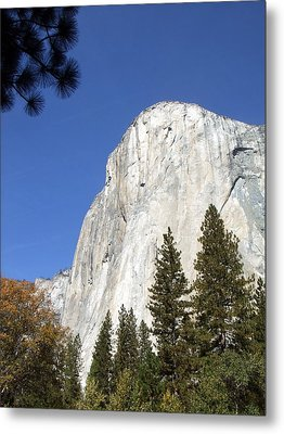 Metal Print featuring the photograph Half Dome Yosemite by Richard Reeve