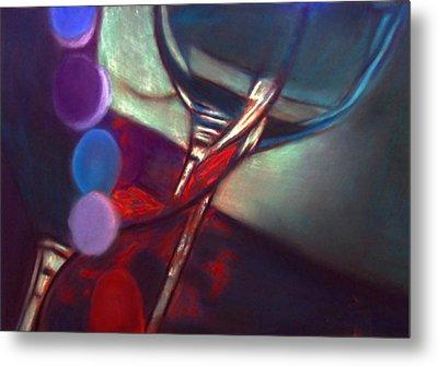Half Price Wine Night Metal Print by D Rogale