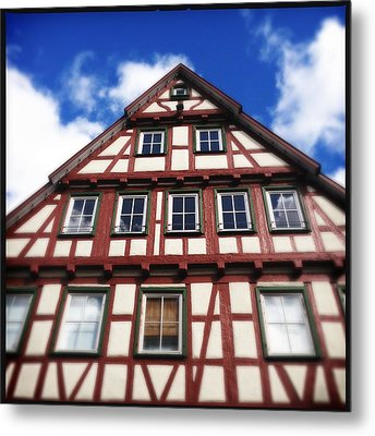 Half-timbered House 05 Metal Print by Matthias Hauser