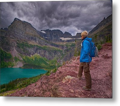 Metal Print featuring the photograph Halfway There by Rob Wilson