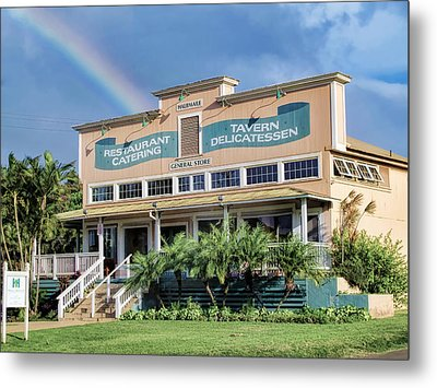 Metal Print featuring the photograph Haliimaile General Store 1 by Dawn Eshelman