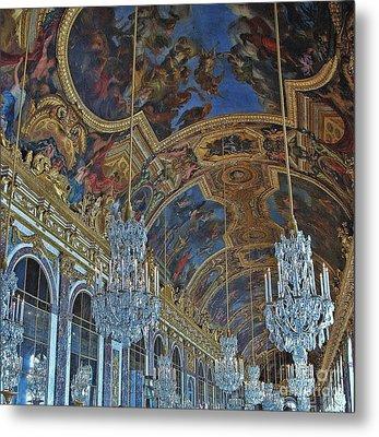 Hall Of Mirrors - Versaille Metal Print