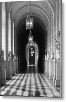 Metal Print featuring the photograph Hall Of Sculpture by Meaghan Troup
