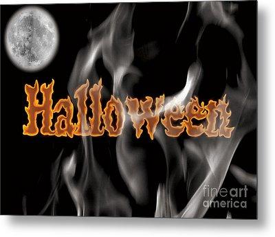 Halloween Metal Print by Angela Pelfrey
