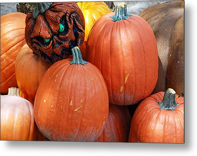 Halloween Goblin Metal Print by Aimee L Maher Photography and Art Visit ALMGallerydotcom