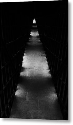 Hallway To Nowhere Metal Print by Christi Kraft