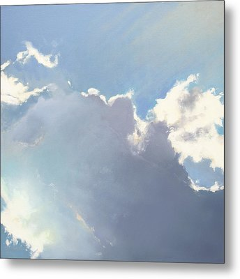 Halo Metal Print by Cap Pannell