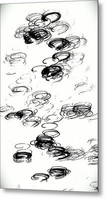 Halo Metal Print by Jacqueline McReynolds