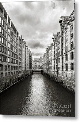 Hamburg Speicherstadt Metal Print by Daniel Heine