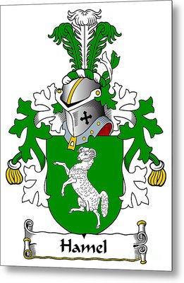 Hamel Coat Of Arms Dutch Metal Print by Heraldry