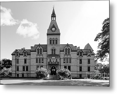 Hamline University Old Main Metal Print by University Icons