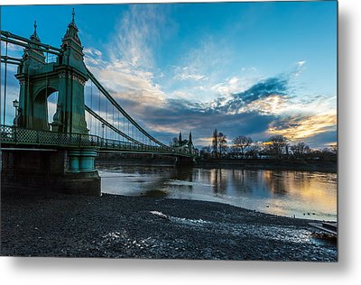 Hammersmith Bridge Metal Print