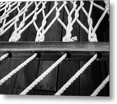 Hammock Metal Print by Julia Wilcox