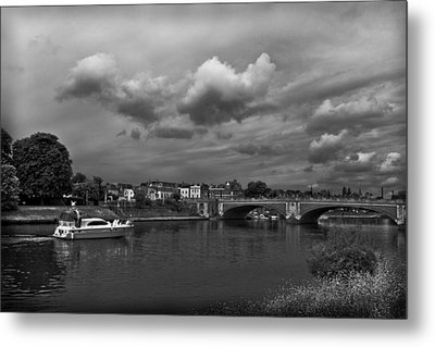 Hampton Bridge Metal Print