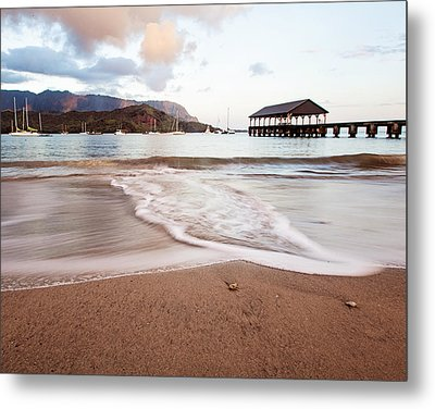 Hanalei Dawn - Kauai, Hawaii Metal Print by Melanie Alexandra Price