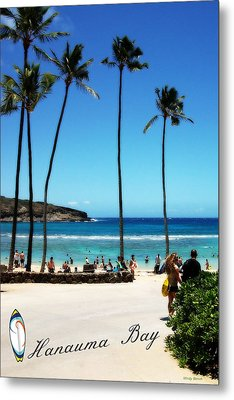 Metal Print featuring the photograph Hanauma Bay by Mindy Bench