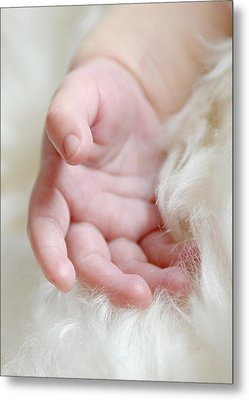Hand Of An Angel Metal Print by Lisa Phillips