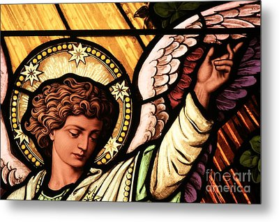 Hand Of The Angel Metal Print by Adam Jewell