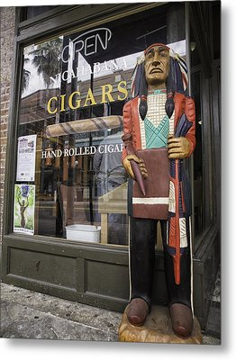Hand Rolled Cigars Metal Print