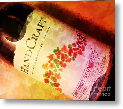 Handcraft Cabernet Sauvignon Metal Print by Mary Machare