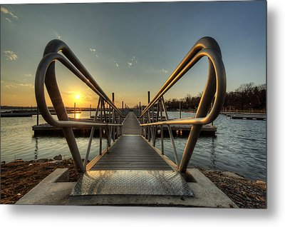 Handle On The Sun Metal Print
