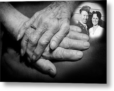 Metal Print featuring the photograph Time On Our Hands by Shirley Heier