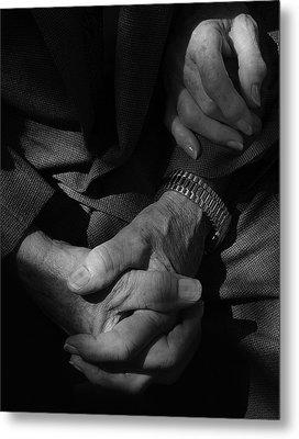 Hands Of Time Metal Print by Steven Milner